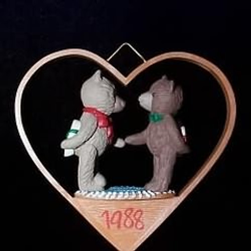 1988 1st Christmas Together - Bears