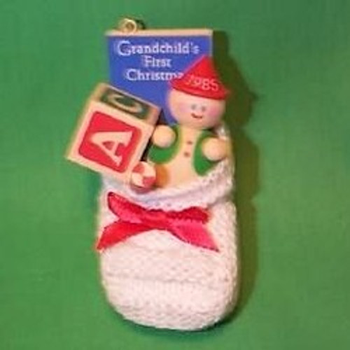 1985 Grandchild 1st Christmas - Stocking