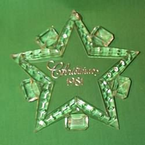 1981 Christmas Star - Holiday Highlights