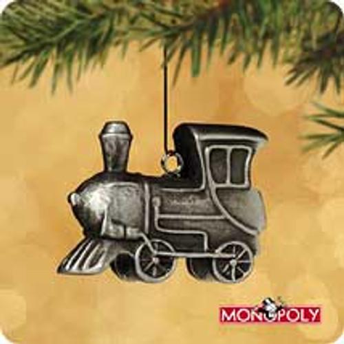 2002 Monopoly #3F - Locomotive