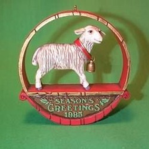 1985 Sheep At Christmas