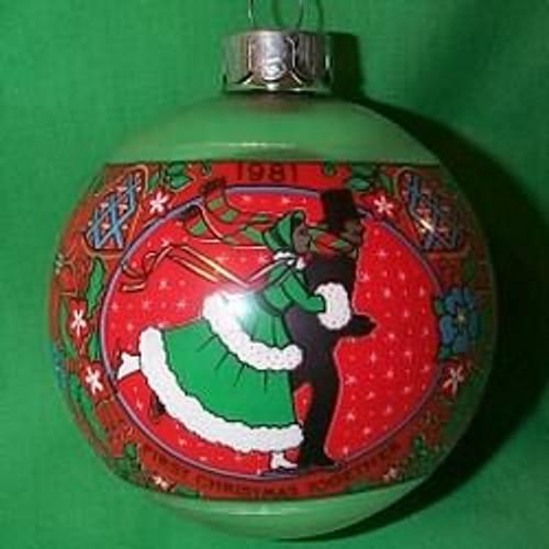 1981 1st Christmas Together - Bulb