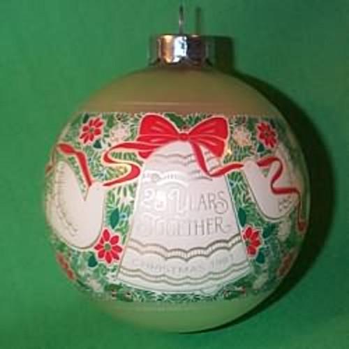 1981 25th Christmas - Bulb