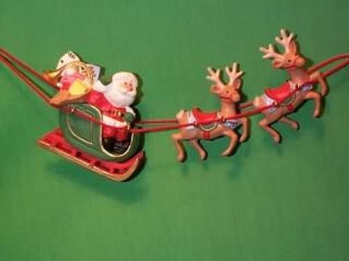 1986 Santa And His Reindeer
