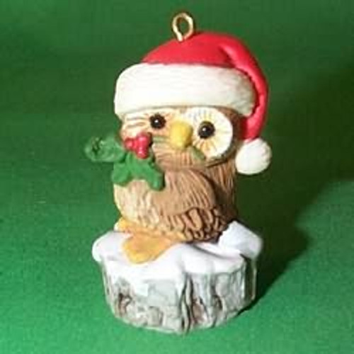 1980 Christmas Owl - Little Trimmer