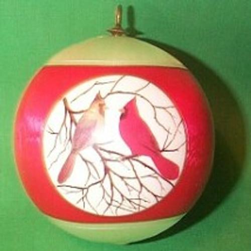 1977 1st Christmas Together - Bulb
