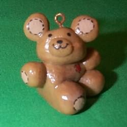 1980 Christmas Teddy - Little Trimmer