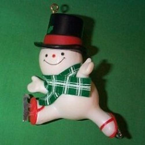 1979 The Skating Snowman