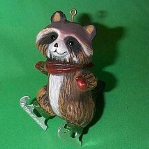 1978 Skating Raccoon
