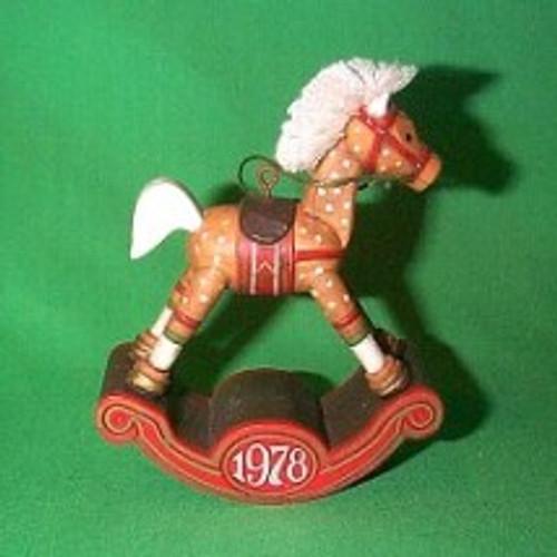 1978 Rocking Horse