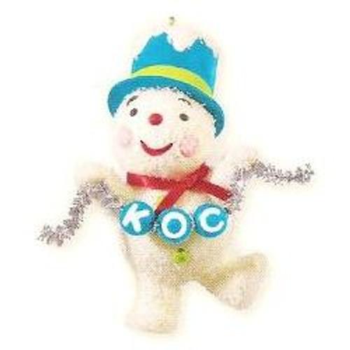2013 A Snowmans Joyful Job - KOC Event