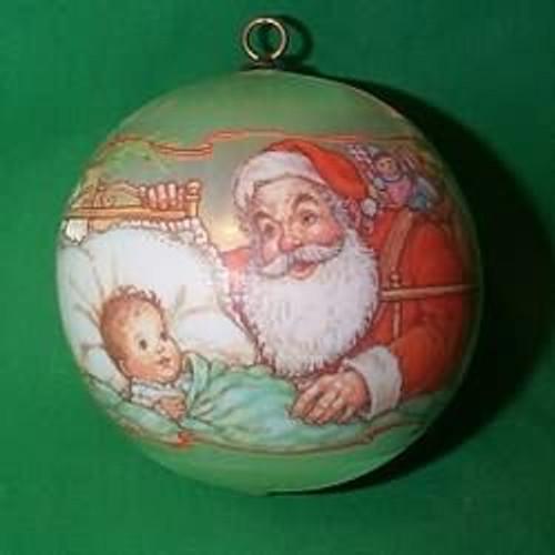 1980 Baby's 1st Christmas - Ball