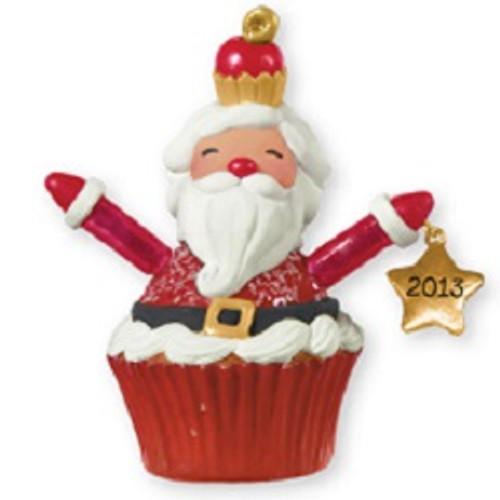 2013 Christmas Cupcakes - Santa Cupcake