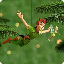 Trust and Pixie Dust Disney Peter Pan  2018 Hallmark Ornament Faith