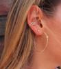 Essentials Stud Earring in Diamond