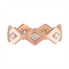 LUCIA CLASSIC ETERNITY BAND IN ROSE GOLD