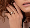Lucia Marquise single stone bands