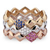 Lucia Pinky Ring stack