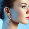 Giovanna Spinel and Diamond Earrings