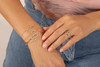 Gianna Chevron bracelets