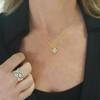 Regalo Diamond Pendant in 14K Yellow Gold