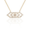 Gianna Medium Diamond  Pendant in 14K Yellow Gold