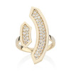 Stellara Ring with Diamonds in 14K Yellow Gold