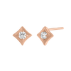 Regalo Diamond Stud Rose Gold