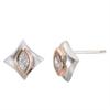 Regalo Marquise Diamond Stud Earring