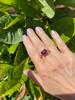 Portofino Paradise Ring with Rhodolite Garnet