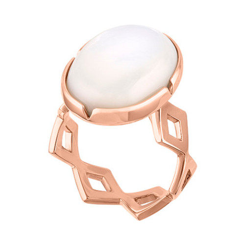 Lucia Cabochon Ring with Open Shank