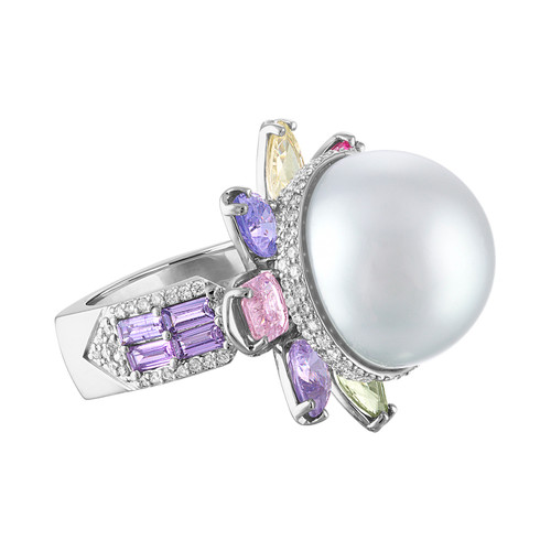 Serenity Pearl Ring