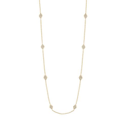 Lucia Diamond 8 Station Necklace