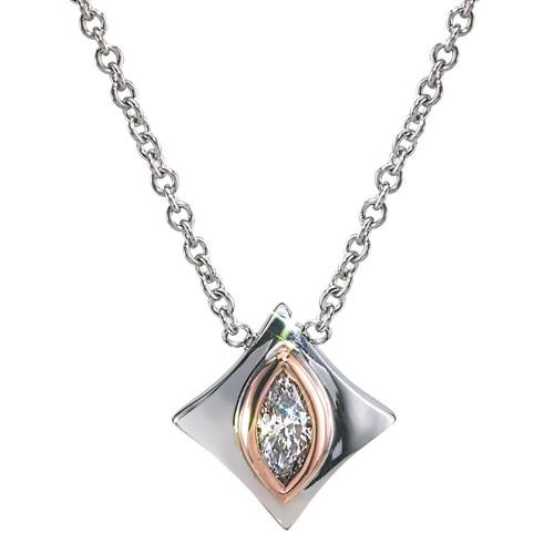 Regalo Marquise Diamond Pendant