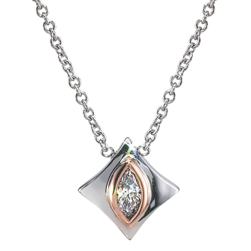 Regalo Marquise Diamond Pendant
