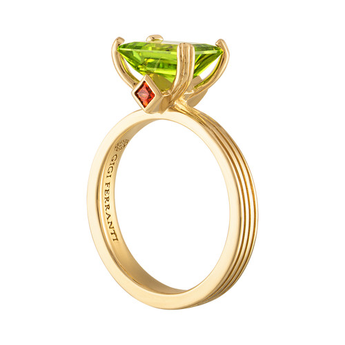 Portofino Paradise ring with Peridot