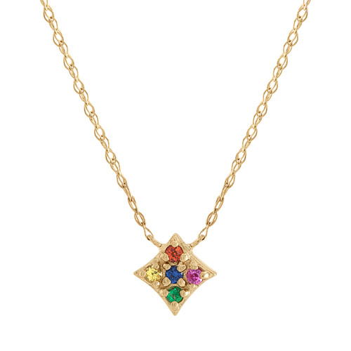 Mini Gianna Rainbow Pendant