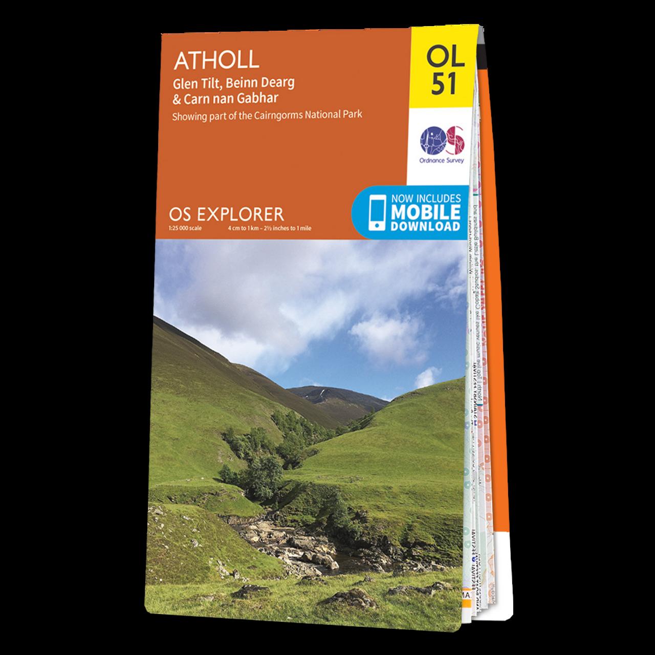 Map Of Atholl