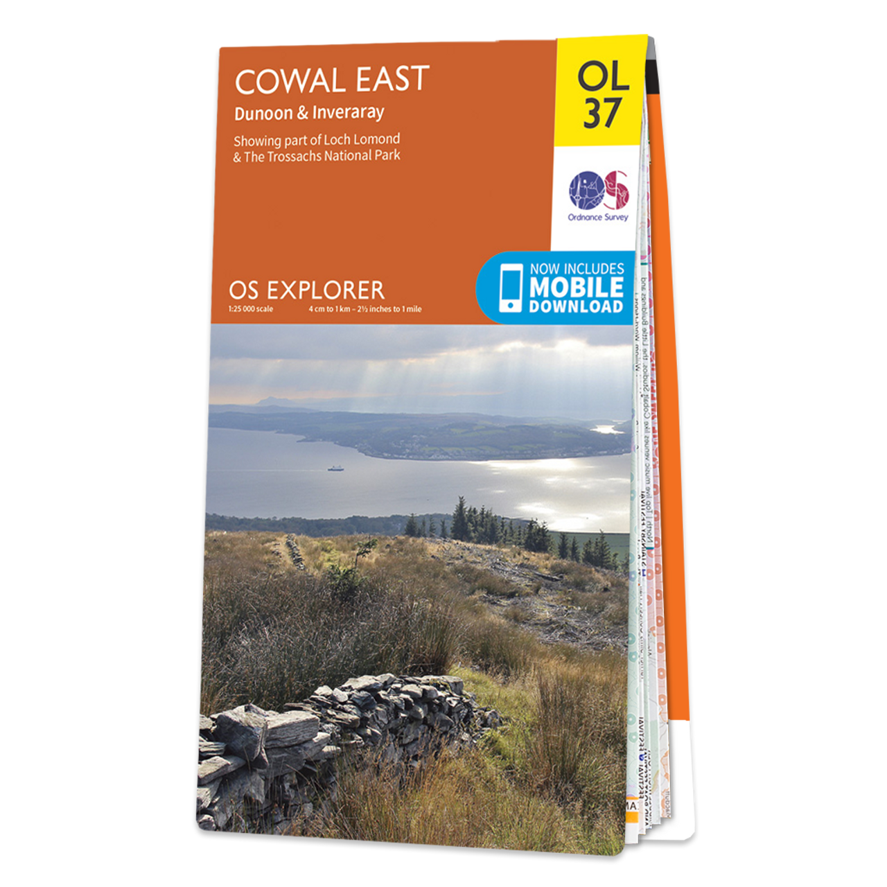 Map Of Cowal East