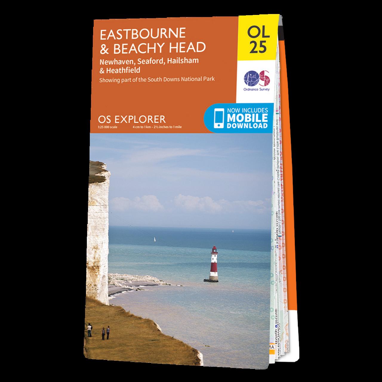Map Of EastbourneandBeachy Head