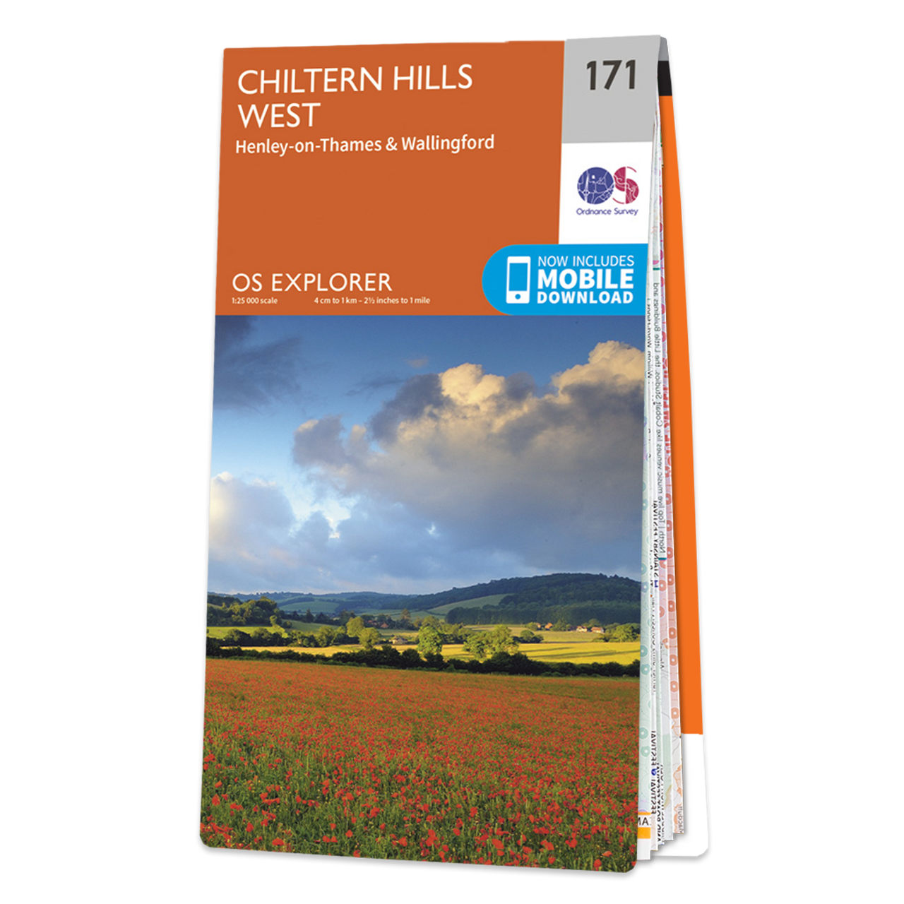 Map Of Chiltern Hills West
