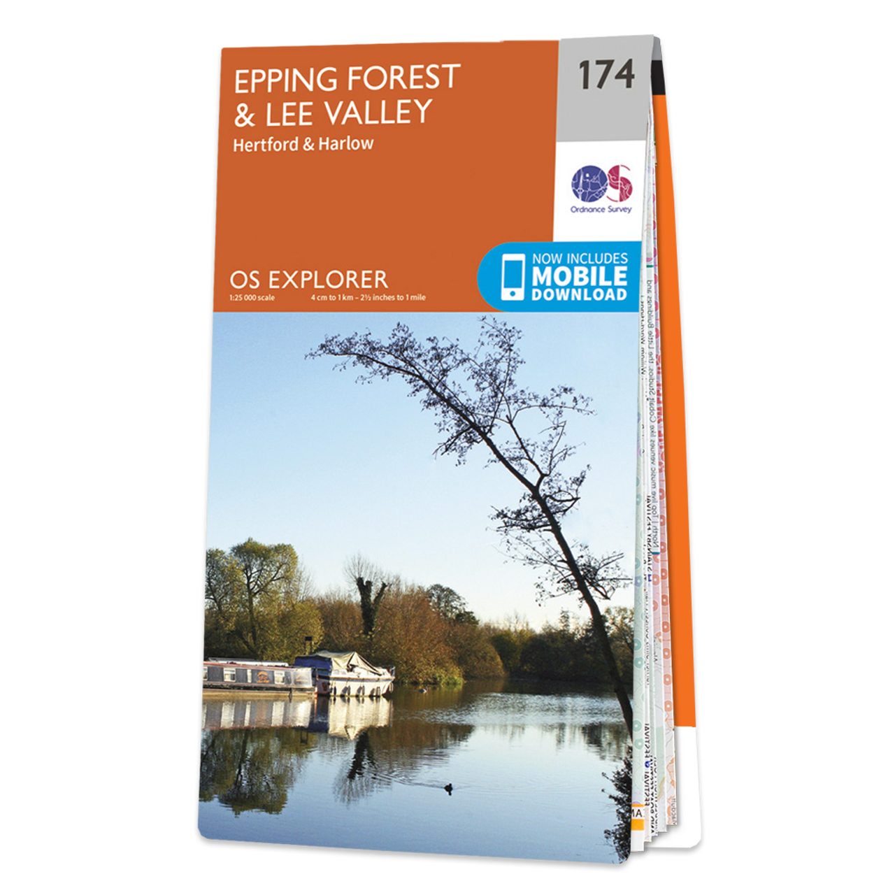 Map Of Epping ForestandLee Valley