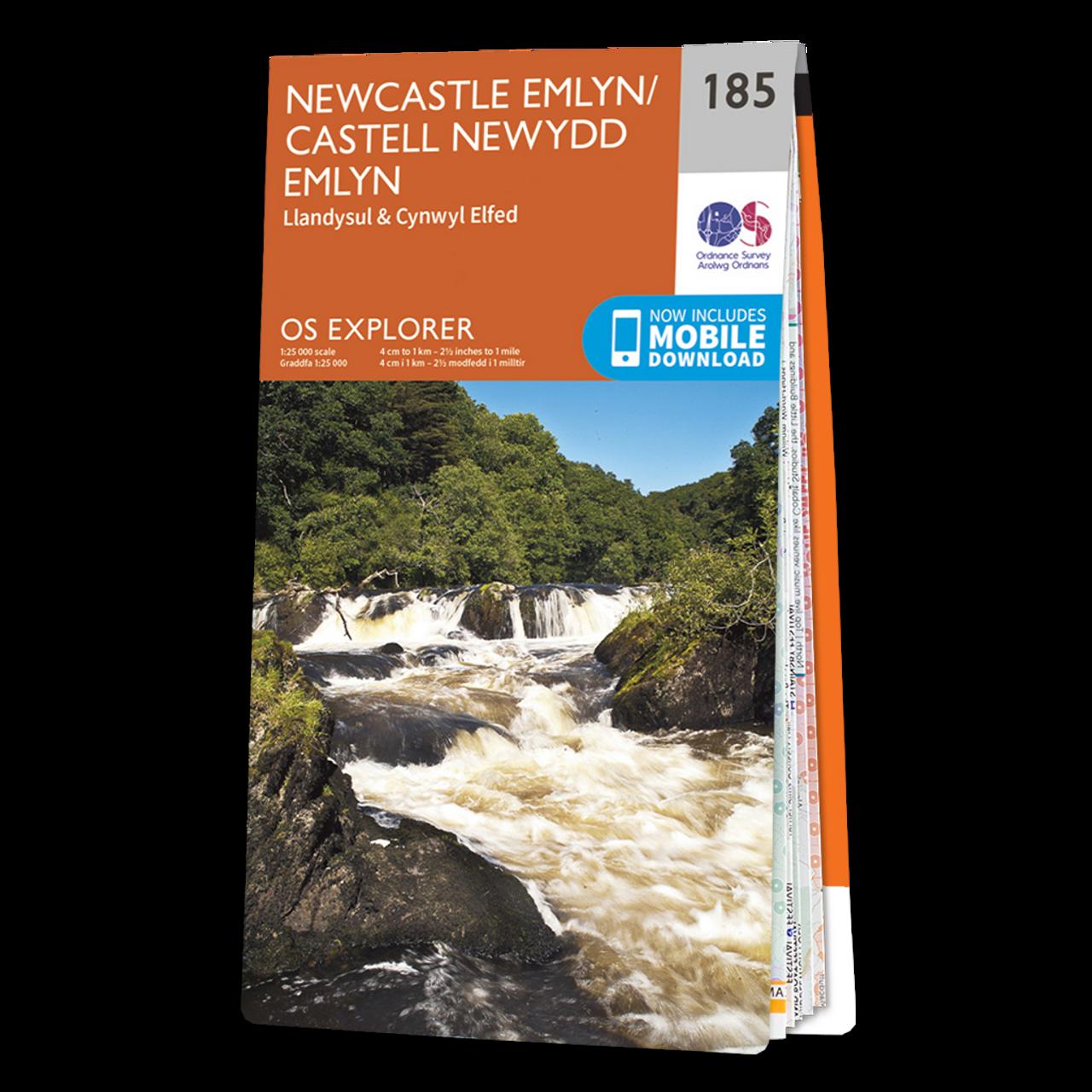 Map Of Newcastle Emlyn