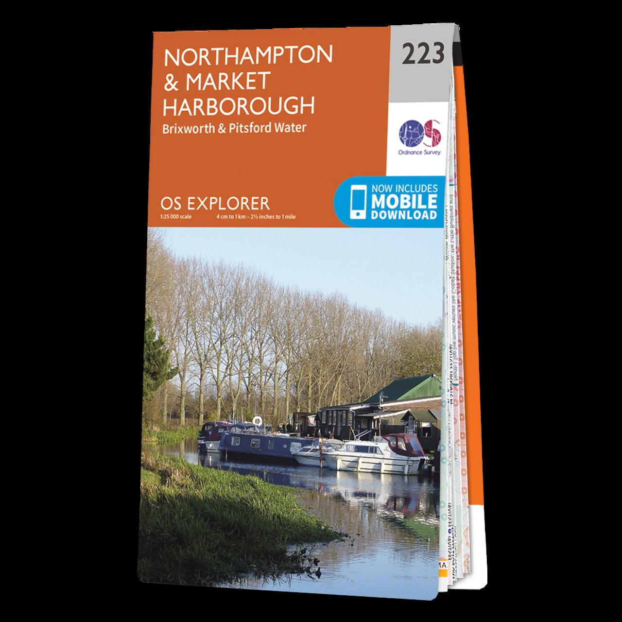 Map Of NorthamptonandMarket Harborough
