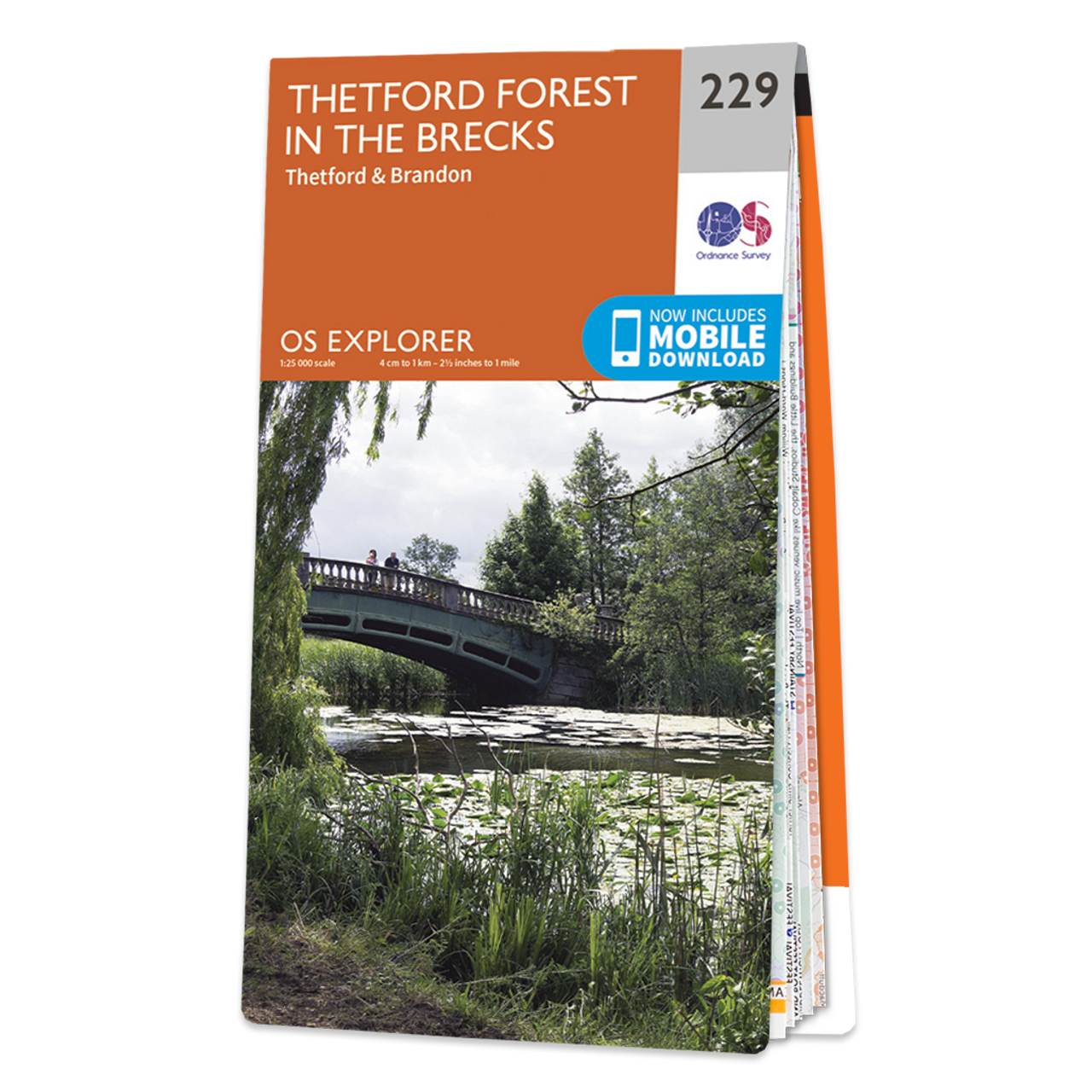 Map Of Thetford Forest In The Brecks