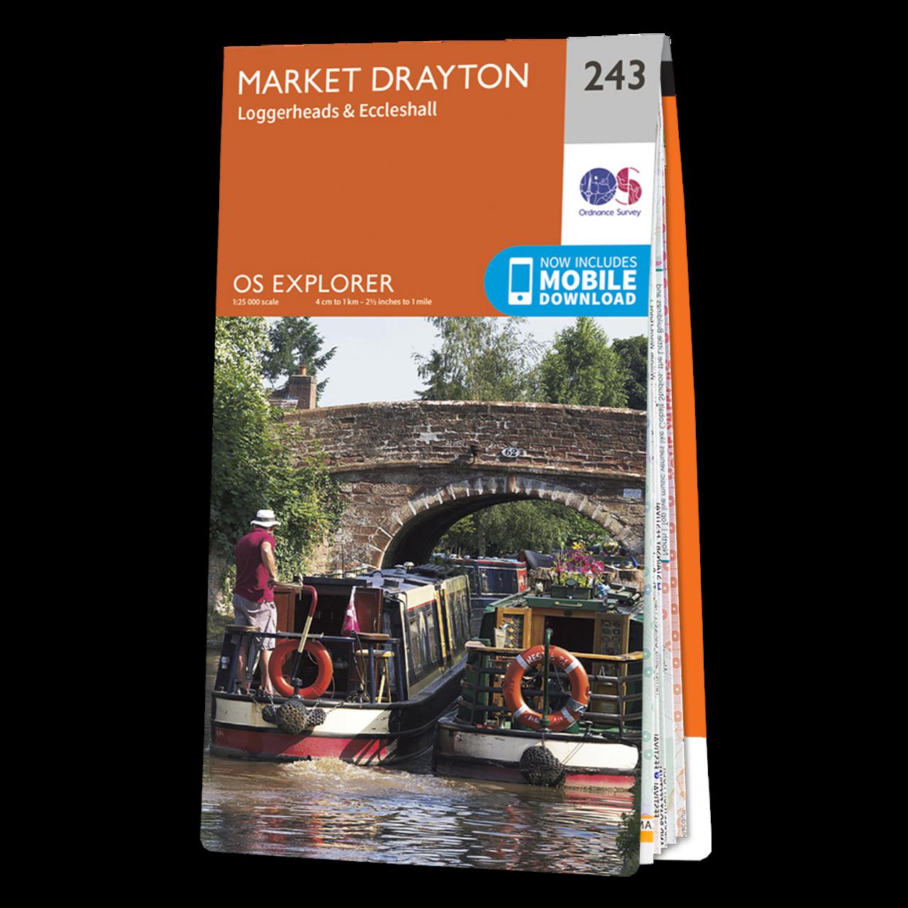 Map Of Market Drayton