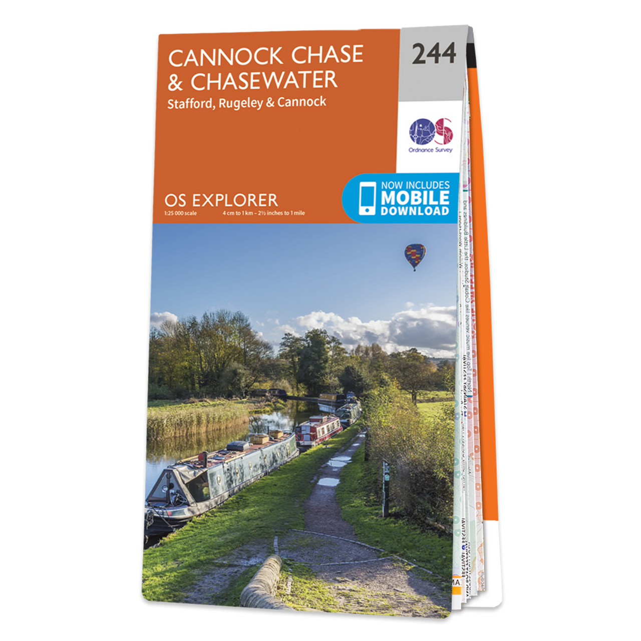 Map Of Cannock ChaseandChasewater