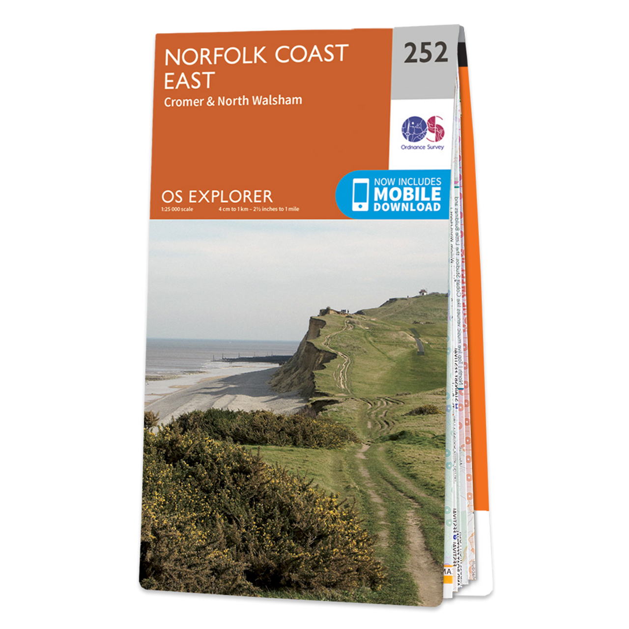 Map Of Norfolk Coast East