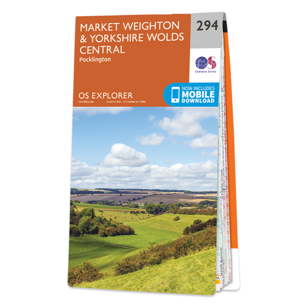 Map Of Market WeightonandYorkshire Wolds Central