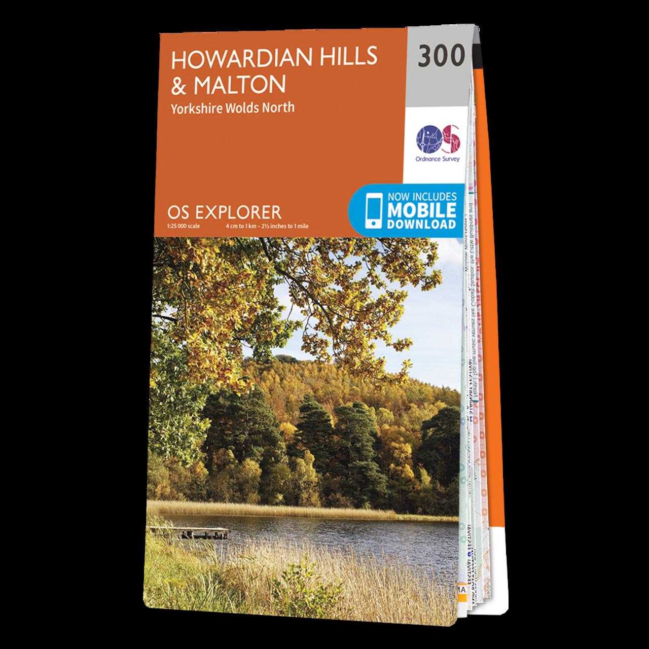 Map Of Howardian HillsandMalton